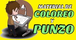 Libro de coloreado y punzo