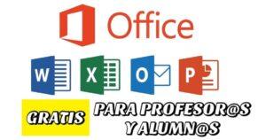 Office 365 gratis con