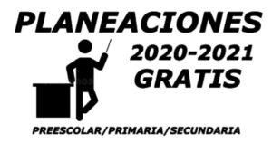 Planeaciones gratis 2020-2021